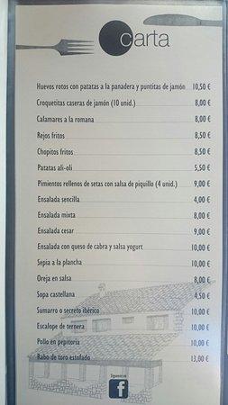 Restaurante bar restaurante distinto en pedraza con cocina for El jardin pedraza