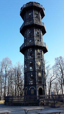 King-Friedrich-August-Tower: Von der Gaststätte aus gesehen