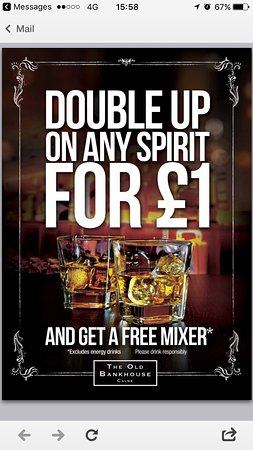 Calne, UK : Double up for £1!