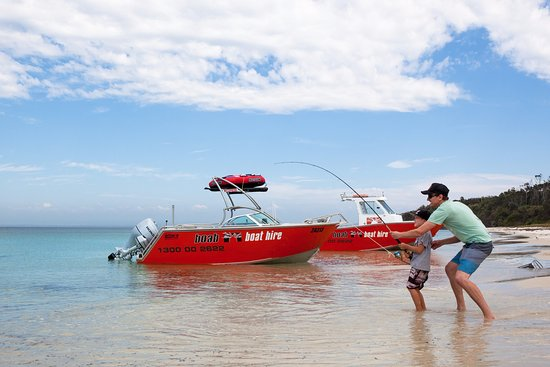 boab boat hire redcliffe great fishing around moreton bay