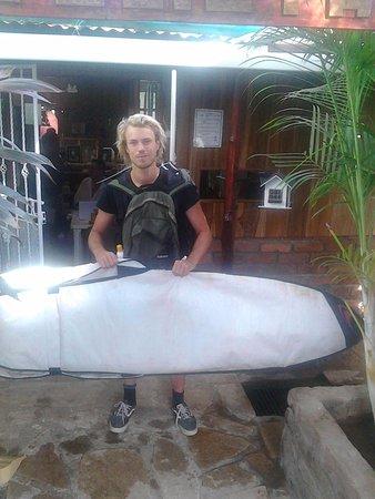 Rivas, Νικαράγουα: Go9ing surfing  with Memo