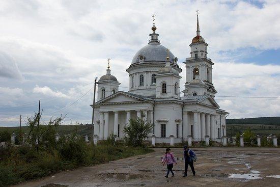 Kyakhta, รัสเซีย: Воскресенская церковь