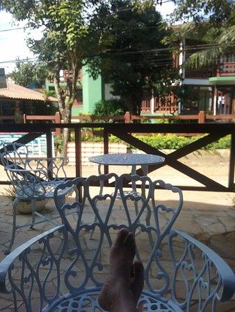 Yes Hotel Pousada: vista da varanda