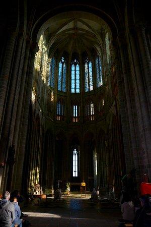 Abadía del Monte San Michel: Inside the church