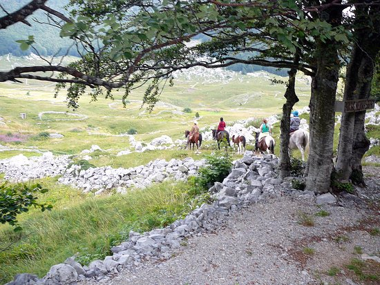 Velika Plana, Croatia: Discovering Velebit mountain.
