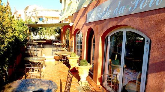 La Table Du Port : Vue extérieure restaurant