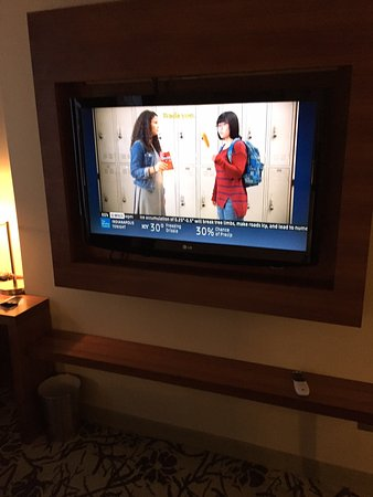 Cassa Hotel 45th Street New York: Flat screen large TV