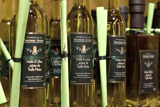 Moulin Fortune Arizzi : L'huile d'olive truffée du Moulin Arizzi