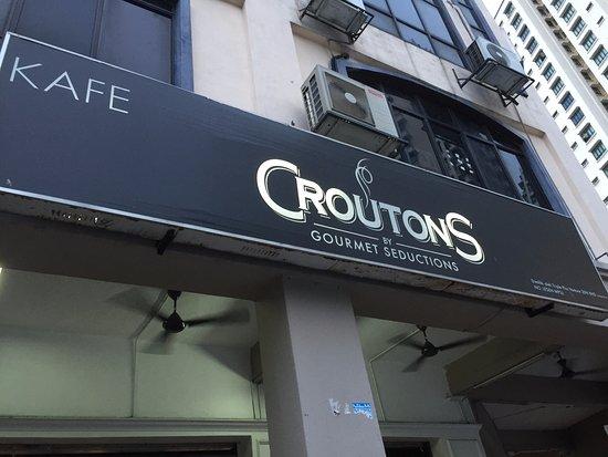 Sri Kembangan, Malesia: Croutons ...