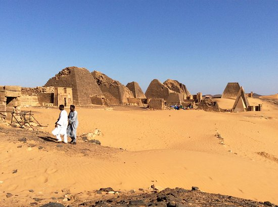 Real Egypt Day Tours: Meroe pyramids