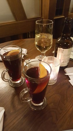 Alcester, UK: Mulled wine