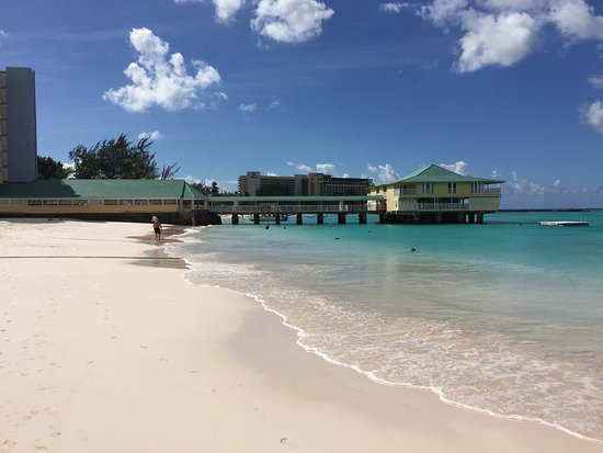 Radisson Aquatica Resort Barbados View From Pebble Beach Only Access Is To Walk Through