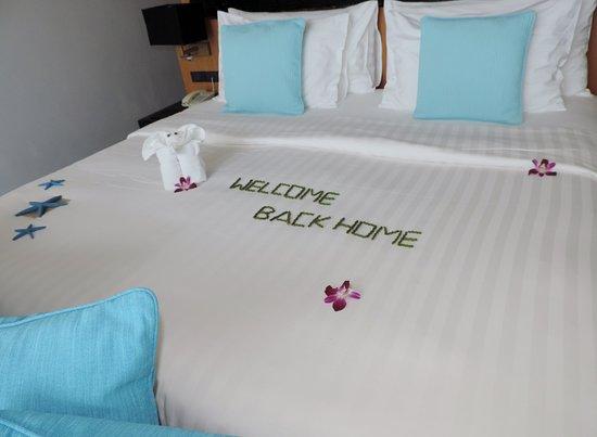 Ramada Khao Lak Resort: Willkommensgruss beim zweiten Besuch