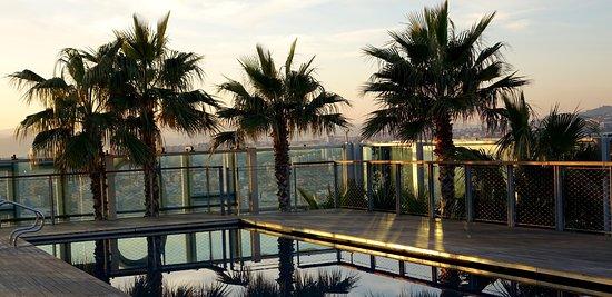 L'Hospitalet de Llobregat, Hiszpania: Roof Top Pool