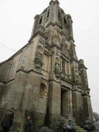 Belleme, Frankrike: vue de face