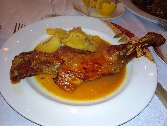 El Escorial, สเปน: La Rueda Mesón Restaurante