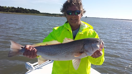 Isle of Palms, Carolina Selatan: A nice fish for the morning