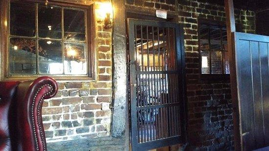 Harrietsham, UK: Door to another eating area