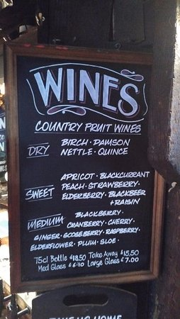Harrietsham, UK: List of local wines