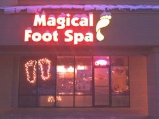 Nampa, Айдахо: Magical Foot Spa