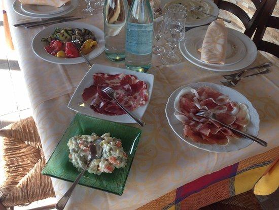 Cornaredo, Ιταλία: antipasti