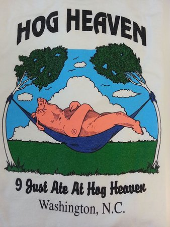 Washington, NC: Hog Heaven Signage