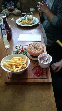 Woolpit, UK: Chicken Burger - £8.95
