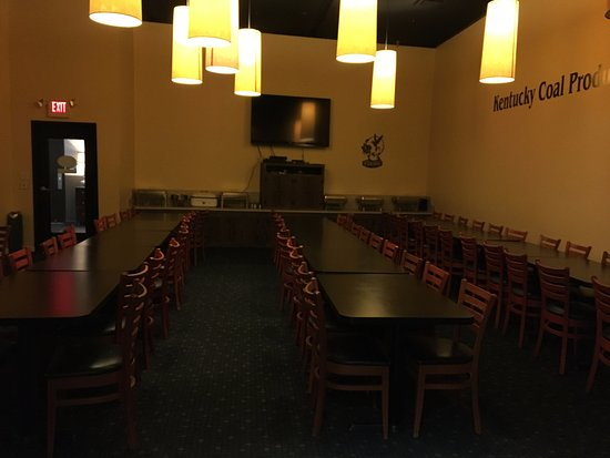 Hazard, KY: Banquet Room