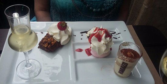 Mérignac, Frankrijk: desserts