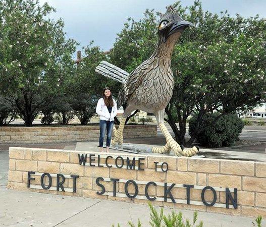 Fort Stockton, TX: Daughter & Paisano Pete