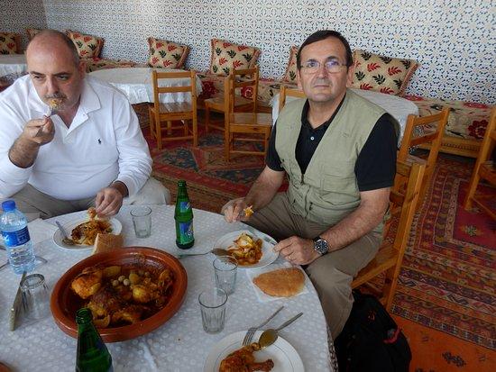 Kasbah of Tiout: tajin de pollo