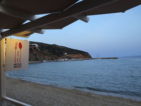 Platis Yialos, Yunani: summer on the beach!!