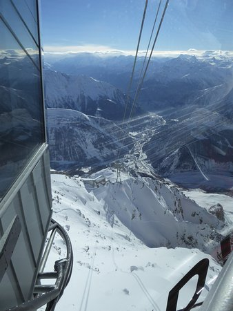 Punta Helbronner - Funivie Monte Bianco: on a dit design = italien ?