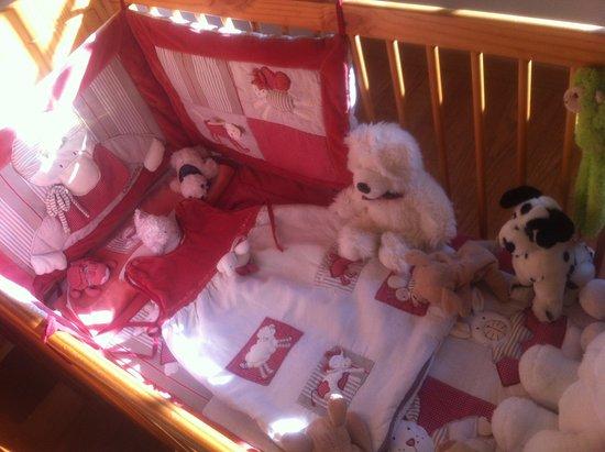 Eure, Fransa: La Chambre Familiale - Lit bébé