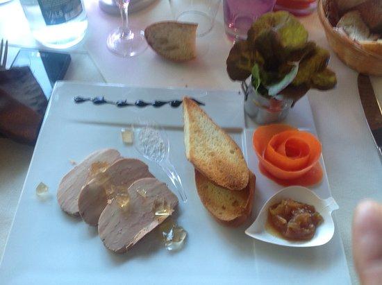 foie gras excellent au sel de guerande picture of l. Black Bedroom Furniture Sets. Home Design Ideas