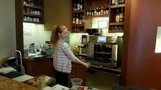 Irving, TX: Baking fresh cookies at the Hyatt