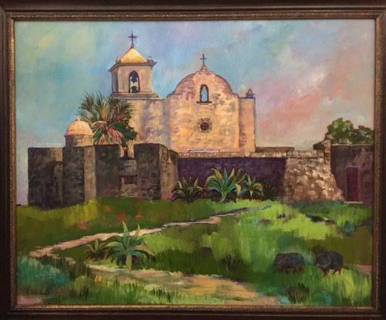 Goliad, TX: Presidio La Bahia by Betty Shamel