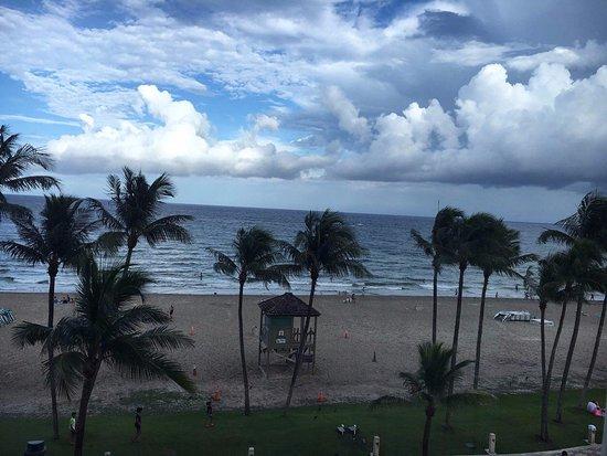 Wyndham Deerfield Beach Resort: View From Rooms