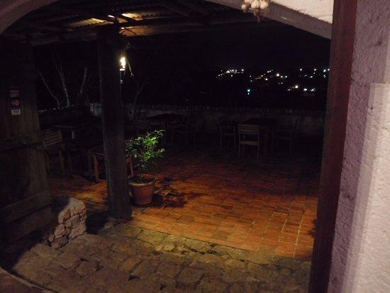 Belmopan, Belize: patio from dinning room