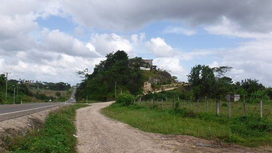 Belmopan, Belize: up the hill