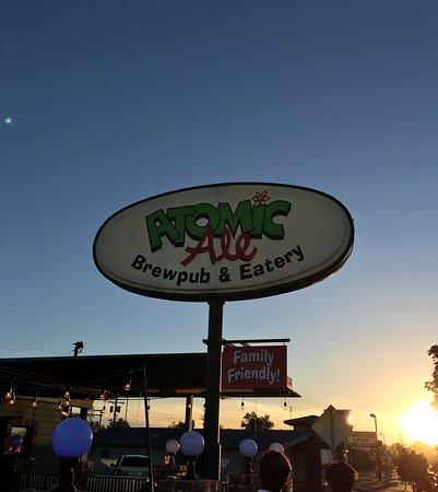 Richland, WA: External view at sunset