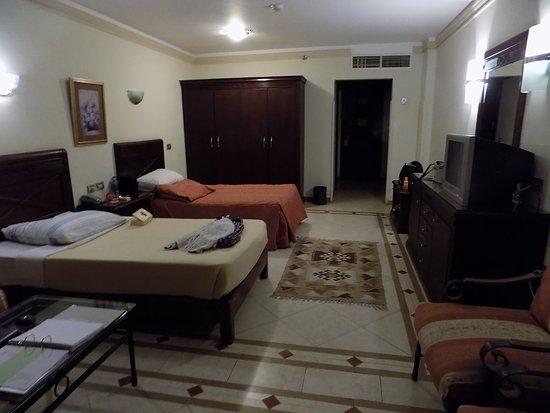 Imperial Shams Resort: Zimmer 3. OG mit seitlichem Meerblick