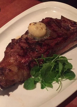 MoonFish: Steak with truffle butter
