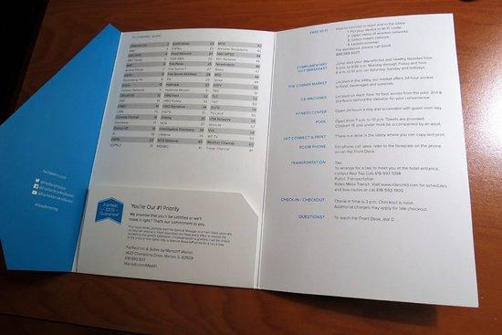 Fairfield Inn & Suites Marion: helpful guest information