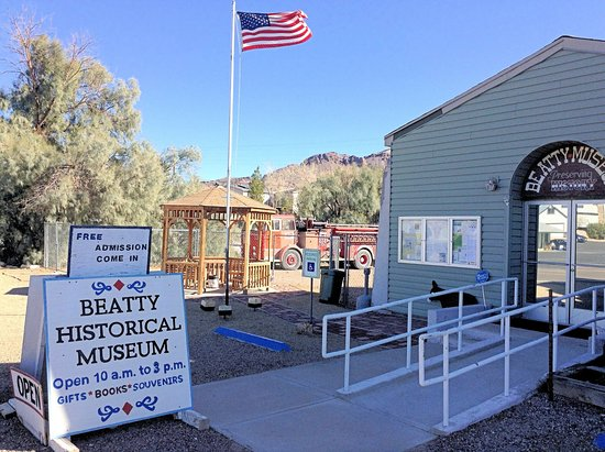 Beatty, NV: Outside Desplay