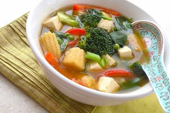 Glenview, IL: Tofu Vegetable Soup