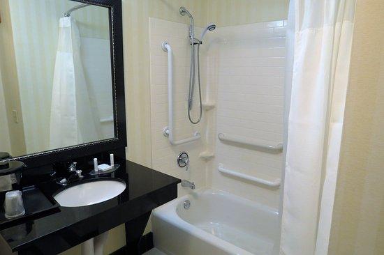 Lake City, FL: easy to use accessible bathtub