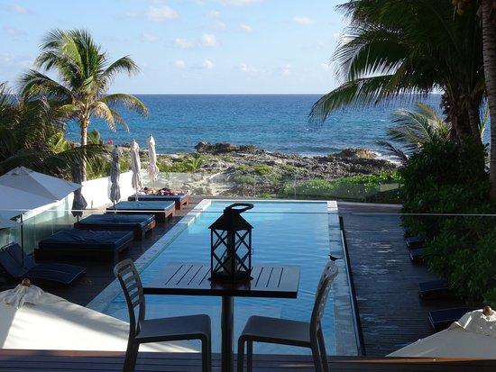 Hotel Secreto: Blick von der Terrasse