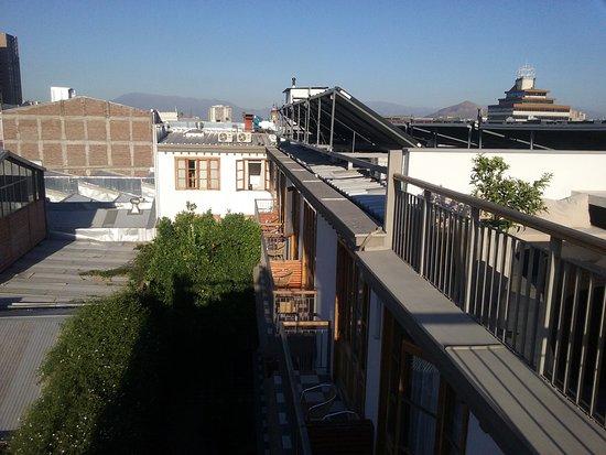 Hotel Loreto: Vista do terraço