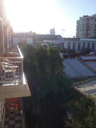 Hotel Loreto: Vista do apartamento